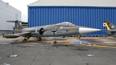 22-40 - Lockheed F-104G Starfighter - Germany - Air Force