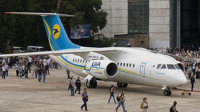 UR-NTD - Antonov An-148-100B - Ukraine International Airlines