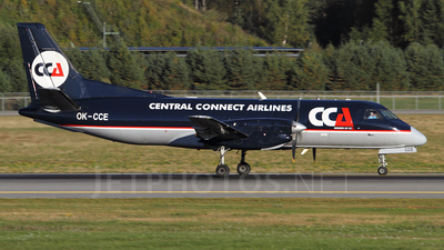 OK-CCE - Saab 340A(F) - Central Connect Airlines