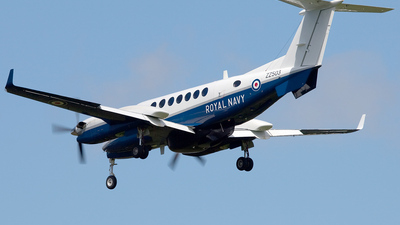 ZZ503 - Beechcraft 350ER Avenger T.1 - United Kingdom - Royal Navy
