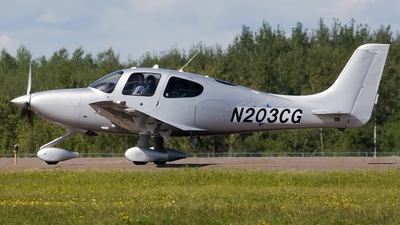 N203CG - Cirrus SR22T - Cirrus Design Corporation