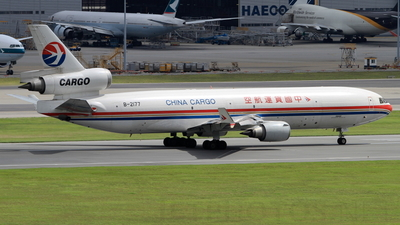 B-2177 - McDonnell Douglas MD-11(F) - China Cargo Airlines