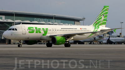 TC-SKJ - Airbus A320-211 - Sky Airlines