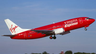 OO-VEB - Boeing 737-36M - Virgin Express