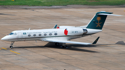 HZ-MF4 - Gulfstream G-IV(SP) - Saudi Arabia - Ministry of Finance