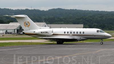 A picture of N143RL - Hawker 4000 Horizon - [RC25] - © Agustin Anaya