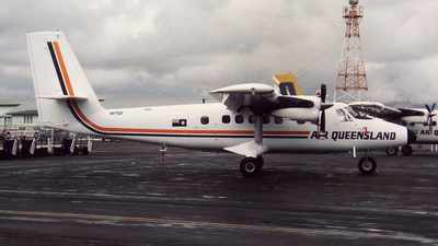 VH-TGF - De Havilland Canada DHC-6-300 Twin Otter - Air Queensland