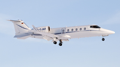 D-CJAF - Bombardier Learjet 60 - Private