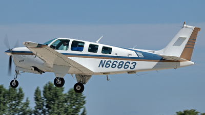 N66863 - Beechcraft A36 Bonanza - Private