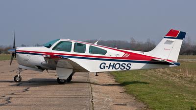 A picture of GHOSS - Beech F33A Bonanza - [CE1151] - © Ian Tate