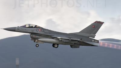 E-601 - General Dynamics F-16AM Fighting Falcon - Denmark - Air Force