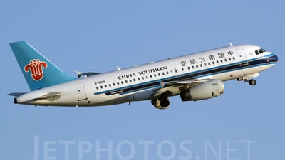 B-6018 - Airbus A319-132 - China Southern Airlines