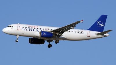 YK-AKD - Airbus A320-232 - Syrianair - Syrian Arab Airlines