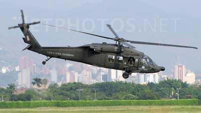FAC4104 - Sikorsky UH-60A Blackhawk - Colombia - Air Force