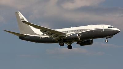 VP-BBW - Boeing 737-7BJ(BBJ) - Gama Aviation