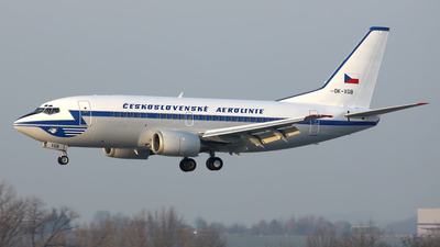 OK-XGB - Boeing 737-55S - CSA Czech Airlines