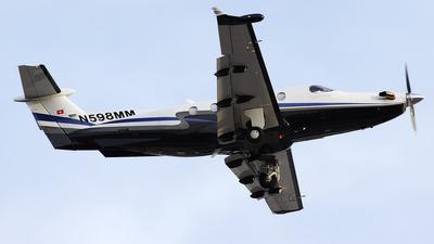 A picture of N598MM - Pilatus PC12/45 - [598] - © Bruce Leibowitz