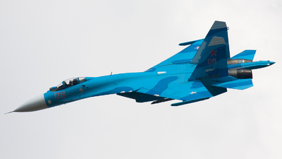 RF-92210 - Sukhoi Su-27 Flanker - Russia - Air Force