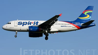 N506NK - Airbus A319-132 - Spirit Airlines