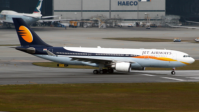 VT-JWQ - Airbus A330-202 - Jet Airways