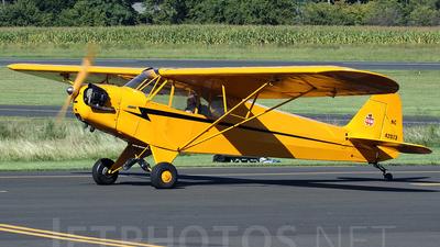 A picture of N42073 - Piper J3C65 - [14300] - © Joe Osciak
