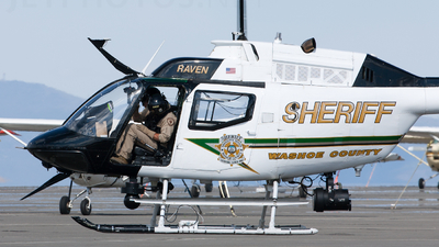 N1911 - Bell OH-58 Kiowa - United States - Washoe County Sheriff