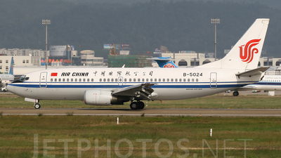 B-5024 - Boeing 737-3Q8 - Air China