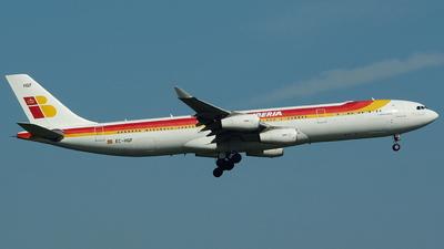 EC-HQF - Airbus A340-313X - Iberia