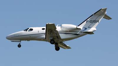 F-GISH - Cessna 510 Citation Mustang - Private