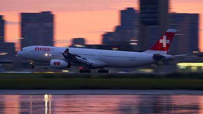 HB-JHF - Airbus A330-343 - Swiss