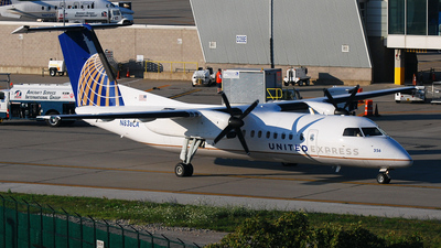 N838CA - Bombardier Dash 8-Q311 - United Express (Commutair)