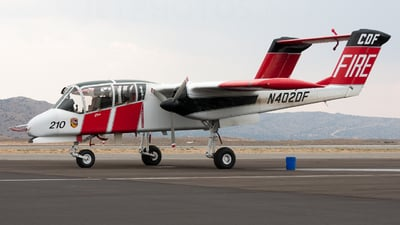 N402DF - North American OV-10A Bronco - United States - California Department of Forestry