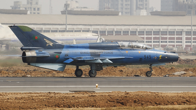 F945 - Chengdu F-7MB - Bangladesh - Air Force