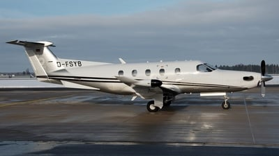 D-FSYB - Pilatus PC-12 - Private