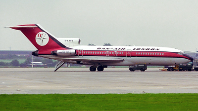 G-BAFZ - Boeing 727-46 - Dan-Air London