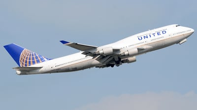 N128UA - Boeing 747-422 - United Airlines