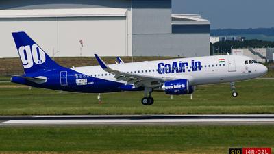 F-WWBZ - Airbus A320-214 - Go Air