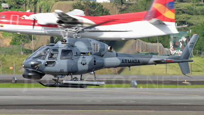 ARC203 - Eurocopter AS 555 Fennec - Colombia - Navy