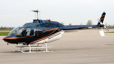 C-GSZZ - Bell 206B JetRanger - National Helicopters