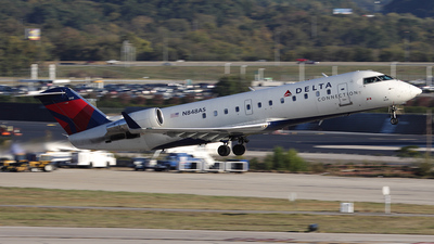 N848AS - Bombardier CRJ-200ER - Delta Connection (Atlantic Southeast Airlines)
