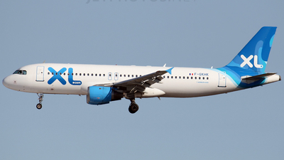 F-GKHK - Airbus A320-212 - XL Airways France