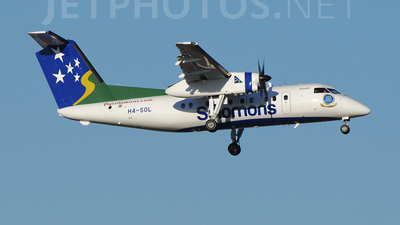 A picture of H4SOL - De Havilland Canada Dash 8100 - Solomon Airlines - © Alex Maras