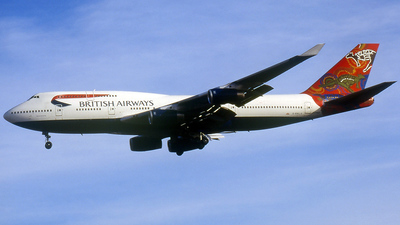 G-BNLS - Boeing 747-436 - British Airways