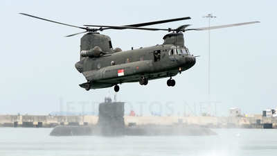 88190 - Boeing CH-47SD Chinook - Singapore - Air Force