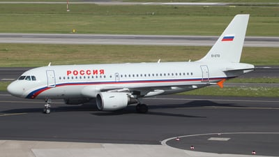 EI-ETO - Airbus A319-112 - Rossiya Airlines