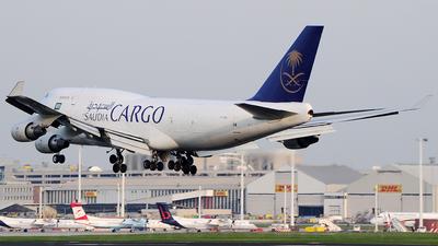 TF-AML - Boeing 747-4H6(BDSF) - Saudi Arabian Airlines Cargo (Air Atlanta Icelandic)