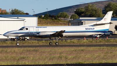 A picture of N569UP - Fairchild Swearingen Metroliner - Ameriflight - © Felipe Garcia