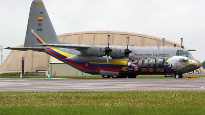 FAC1004 - Lockheed C-130H Hercules - Colombia - Air Force