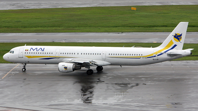F-GYAZ - Airbus A321-111 - Myanmar Airways International (Air Méditerranée)