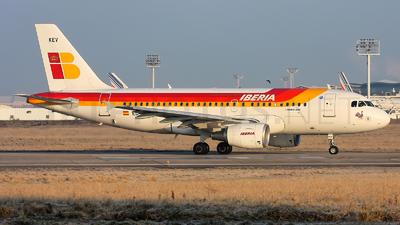 EC-KEV - Airbus A319-111 - Iberia